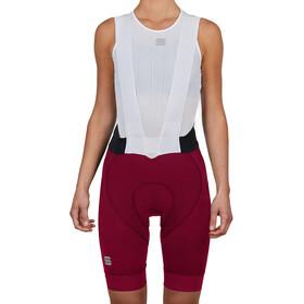Sportful Bodyfit Pro Bibshorts Women red wine